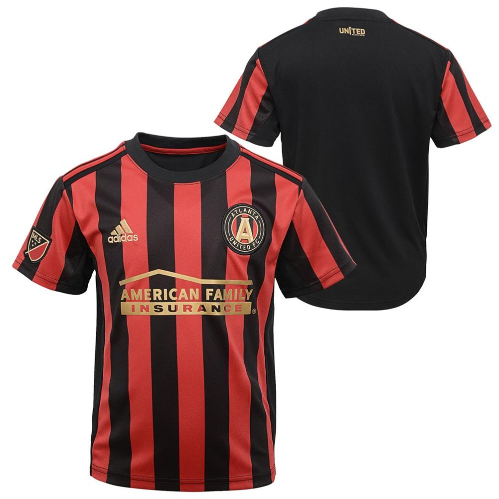 new arrival 832fd 77a65 Toddler Atlanta United FC Jersey Replica Infant Soccer Kit