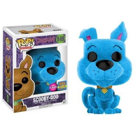 Funko POP! Blue Flocked Scooby Doo #149 (2017 SDCC Exclusive Limited Edition 2500 Pieces)