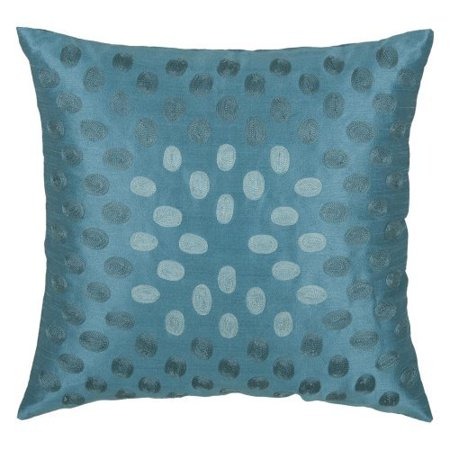Rizzy Home Embroidered Ombre Circles Decorative Throw Pillow - Walmart.com