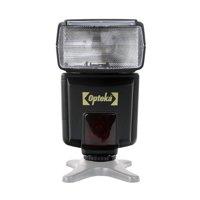 Opteka EF-790 DG Super E-TTL II AF Dedicated LCD Flash for Canon EOS 80D, 70D, 60D, 7D II, 6D,  5D Mark I,II,III, IV, 5DS, Rebel T7i, T6s, T6i, T6, T5i, T5, T3i, T3, SL1 and SL2 Digital SLR Cameras