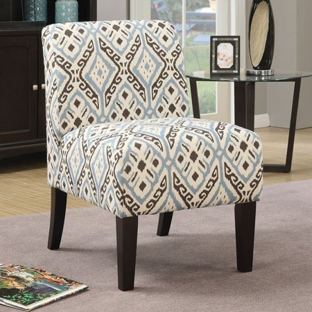 . ACME Ollano Fabric Slipper Chair  Multiple Patterns