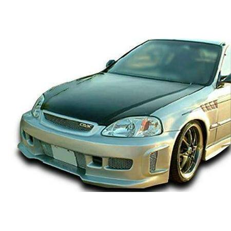 Honda Civic ALL 1996-1998 BW Spec Style 1 Piece Polyurethane Front (Honda Polyurethane Civic Bumper)