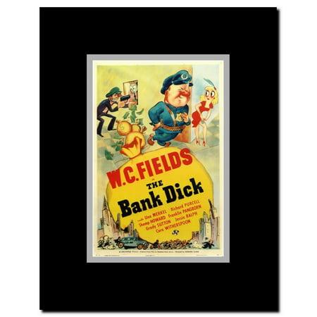 The Bank Dick Framed Movie (Dick Butkus Framed)