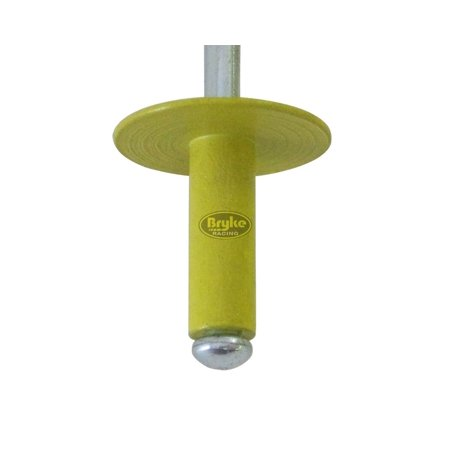 - Large Head Yellow Rivets Pop Rivet 50ct 3/16