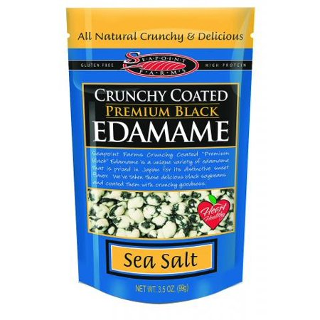 Seapoint Farms Seapoint Farms Crunchy Coated Premium Black Edamame, 3.5 Ounce - Edamame Recipe