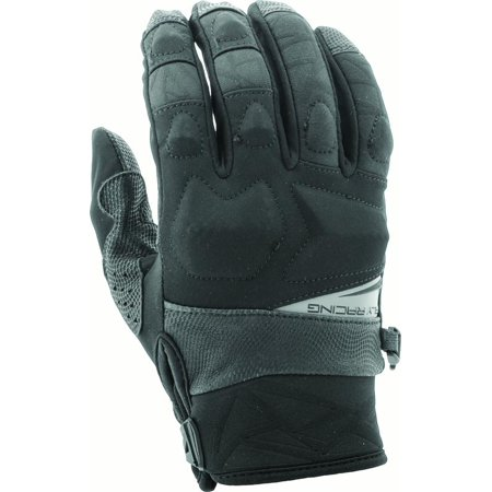 Fly Racing Black Boundry Gloves Size X-Large 371-03011