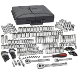 GearWrench 80933 216-Piece SAE/Metric 6 & 12-Point Mechanic's Tool Set