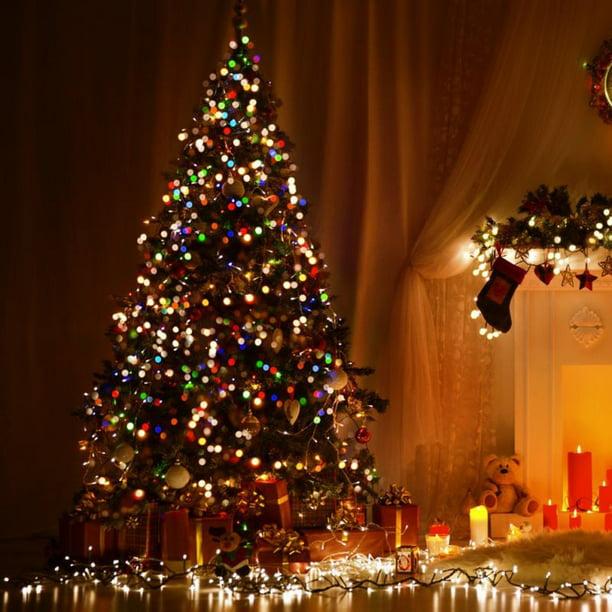 20M//25M WARM WHITE LED ROPE LIGHT CHRISTMAS DECORATION XMAS WEDDING FLASHING