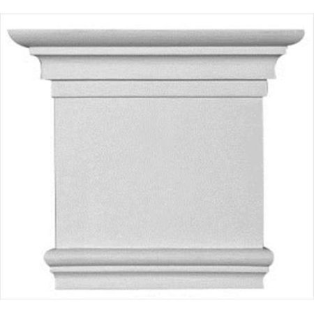 American Pro Decor 5Apd10258 8 25 X 7 37 In  Plain Capital For Pilaster