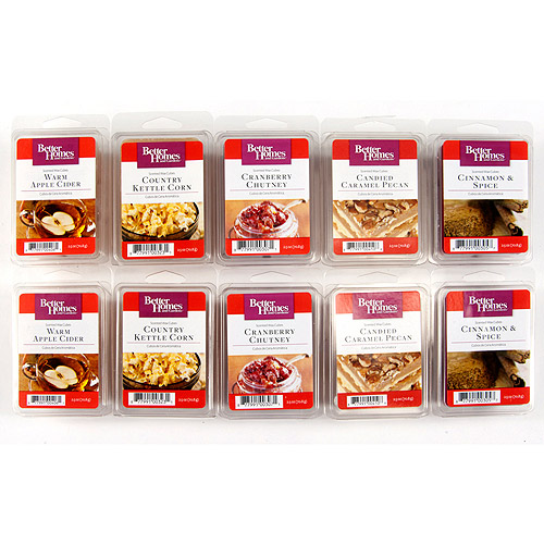 Better Homes & Gardens Fall Festivities Wax - 10pk
