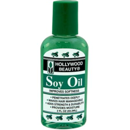 Hollywood Beauty Soy Oil, 2 oz (Pack of 2)