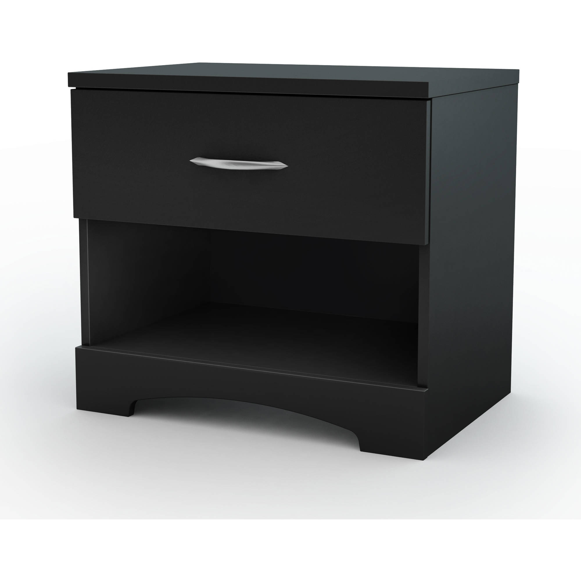 South Shore SoHo 1-Drawer Nightstand, Multiple Finishes