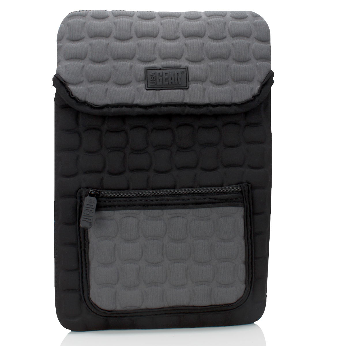 """USA GEAR Tablet Sleeve Compatible with 11-inch iPad Pro 2018 [Latest Model], 9.7-inch iPad 2018, 10.5-inch iPad Pro, more 10"""" to 11"""" tablets - X TAB Protective Neoprene Travel Bag Cover (Black)"""