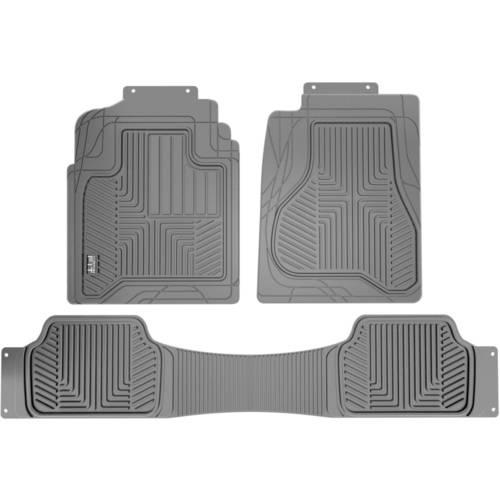 Custom Fit Black 3-Piece All Weather Truck Floor Mat