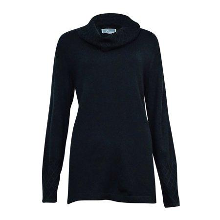 JM Collection Women's Lattice-Knit Cowl Sweater