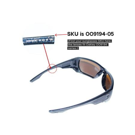 c8fa17bba04 Walleva - Walleva Transition Photochromic Polarized Replacement Lenses for Oakley  Style Switch Sunglasses - Walmart.com