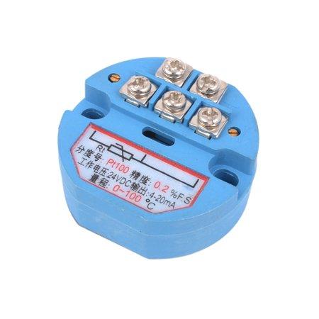 SBWZ PT100 Thermocouple Temperature Sensor Transmitter 0-100C DC 24V - image 2 of 3