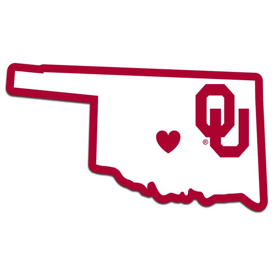 Oklahoma Home State Decal (F)