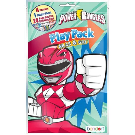 Party Favors - Power Rangers - Grab and Go Play Pack - 8ct - Animated - Go To Party City