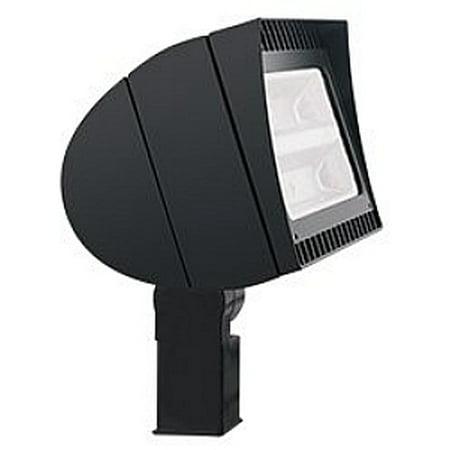 RAB Lighting FLEXFLOOD 125W 480V COOL LED SLIPFITTER BRONZE