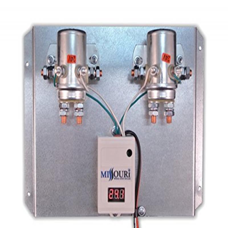24 Volt Digital 880 Amp Charge Controller with Divert Rel...