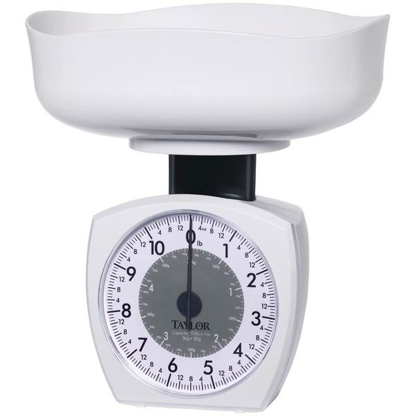 Stainless Steel Kitchen Scale, 11lb;