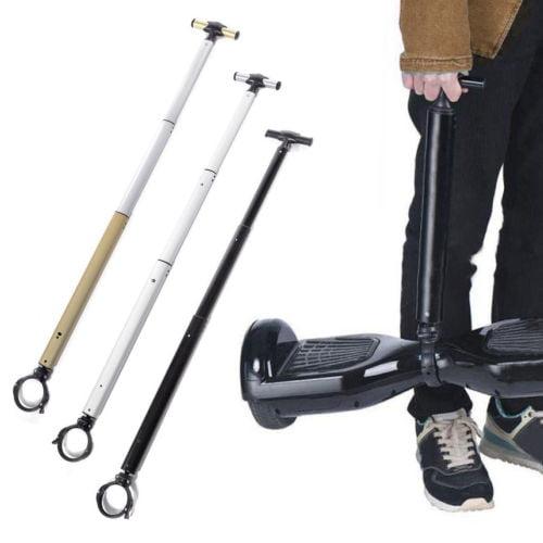 Brand New Adjustable Black Handle Strut Stent Rod For Hover Board Scooter Balance Beginner
