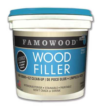 FAMOWOOD 40002148 Wood Filler, 1 gal., White Pine, Pale