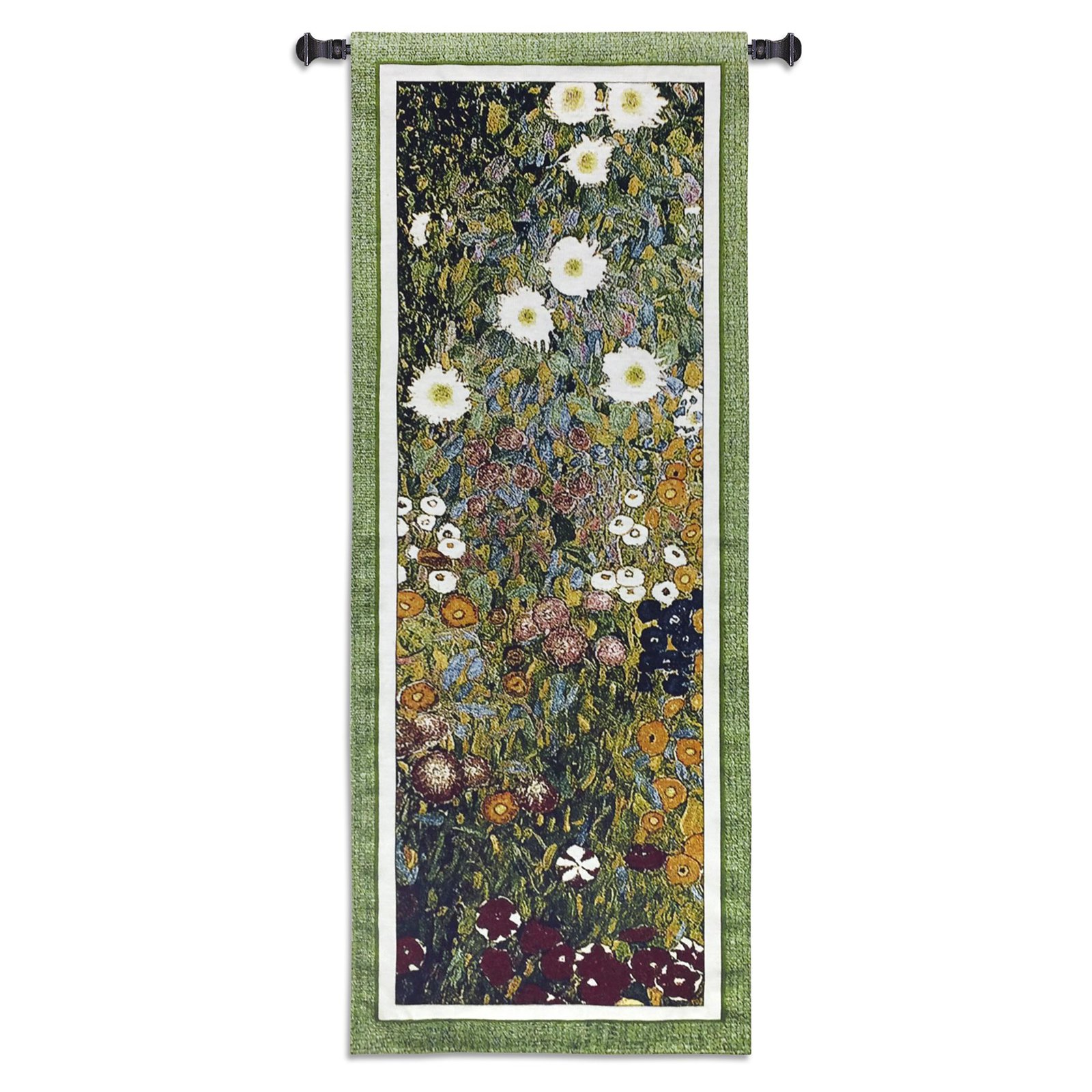 Click here to buy Fine Art Tapestries Flower Garden Wall Tapestry by Supplier Generic.