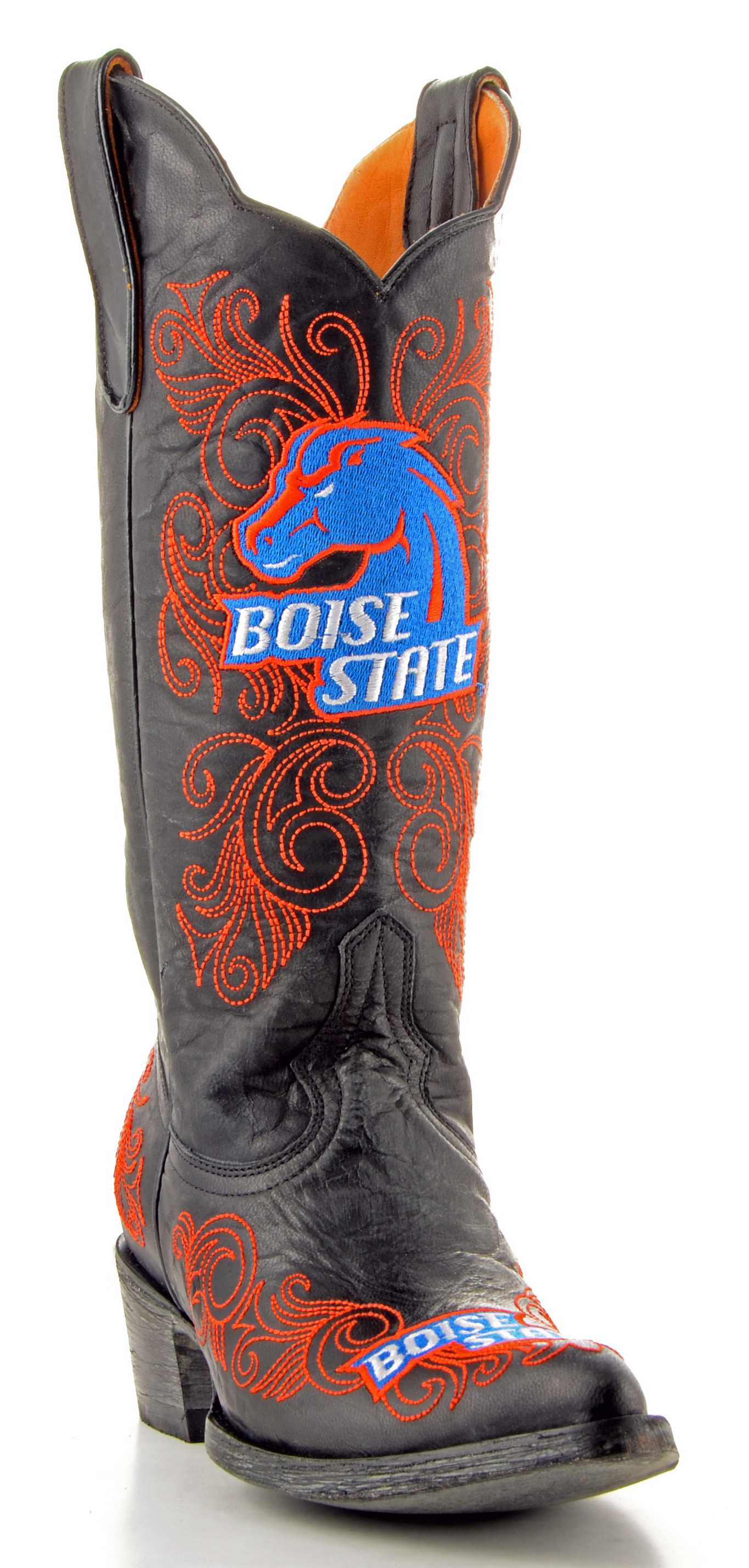Gameday Boots Womens College Team Boise State Broncos Black BSU-L024-2 by Gameday Boots