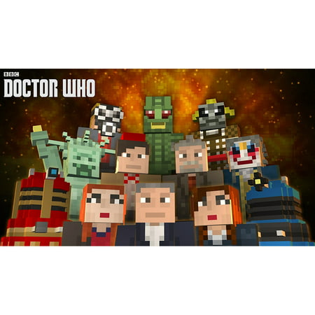 Minecraft Wii U Edition DLC Doctor Who Skins Volume I Nintendo - Skins fur minecraft wii u