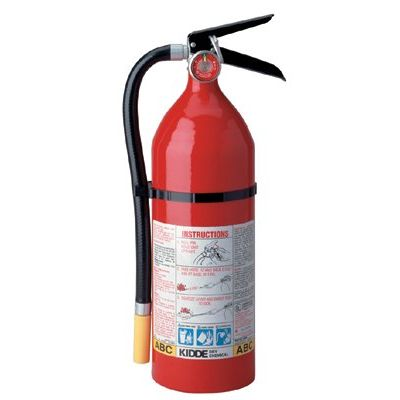 Kidde ProLine  Multi-Purpose Dry Chemical Fire Extinguishers - ABC Type - pro 5 tcm-2vb tri-classabc fire extinguishe