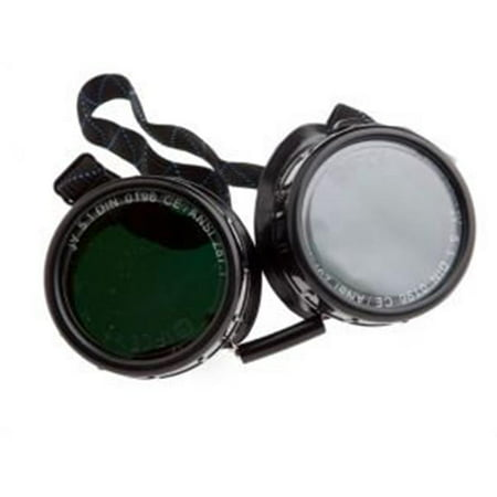 Industries Inc 55311 5 Shade Oxy-Acetylene Welding Goggles, 50 mm. Round ()