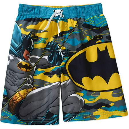 403bf27bbb Batman - ^^dc Comics Boys Batman Swim Shorts - Walmart.com