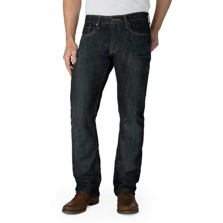 Signature by levi strauss & co. Men's S51 Straight Fit - Signature White Straight Leg Jeans