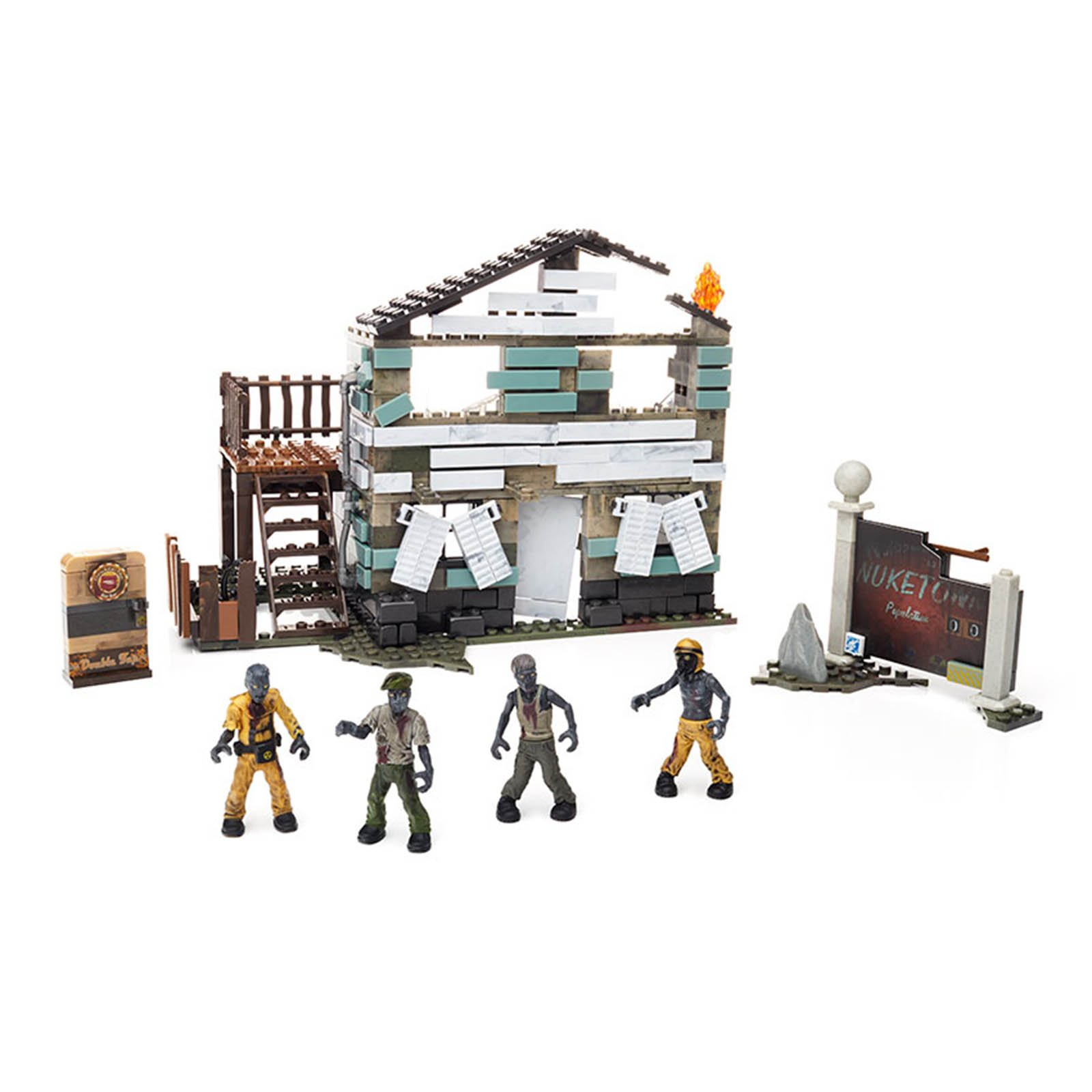 Mega Bloks Call Of Duty Zombies Nuketown Building Set by Mattel