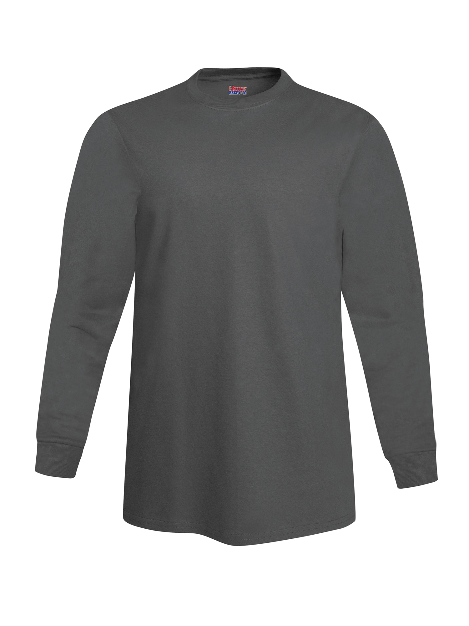 Hanes Men s Beefy Long Sleeve T-shirt 3efa6b2d9f5