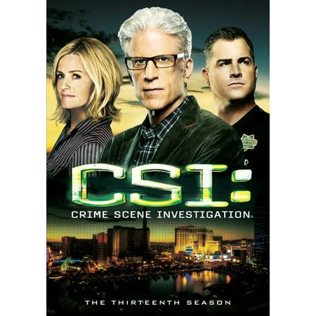 CSI: Crime Scene Investigation: The Thirteenth Season (DVD) (Season Scent)