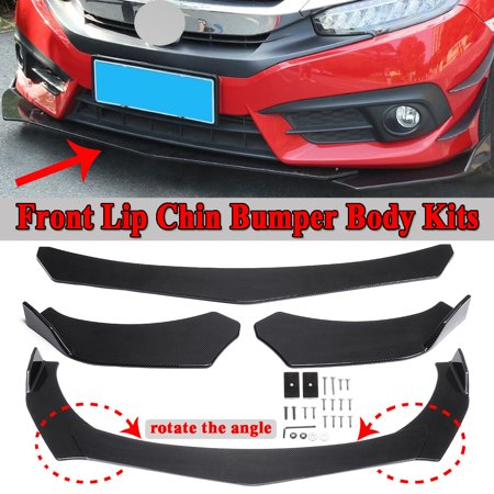 One Set Carbon Front Bumper Lip Spoiler Splitter Body Kit For BMW F10 F30 F32 F36 F80 M3 F82 (Bushmaster Carbon 15 M4 Carbine For Sale)