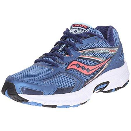 Saucony - Saucony Women s Cohesion 9 Running Shoe 6.5 wide - Walmart.com 12d3dea1db