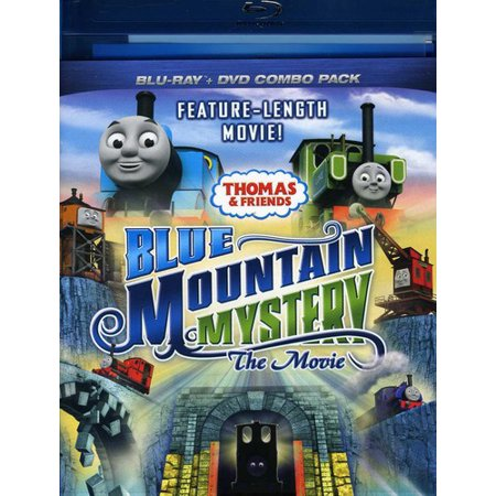 Thomas and Friends: Blue Mountain Mystery the Movie (Blu-ray + Blu-ray)
