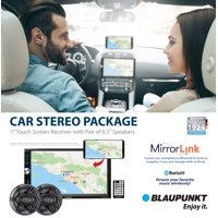 "Refurbished Blaupunkt BALTIMORE650 Baltimore 7"" Touch Screen Receiver"