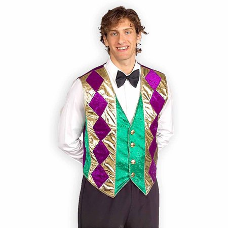 Mardi Gras Vest Adult Halloween Costume Accessory