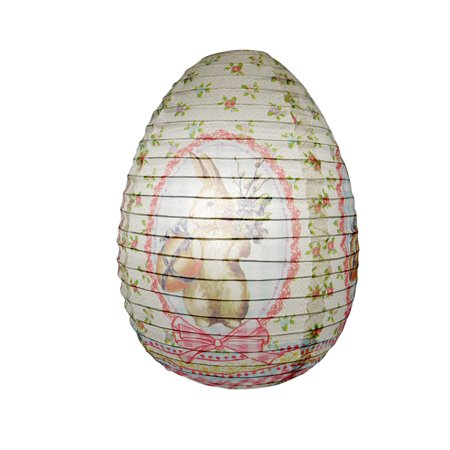 Quasimoon Easter Bunny Paper Lantern by PaperLanternStore ()