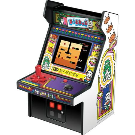 My Arcade Dig Dug Micro Player - Collectible Mini Arcade 60 1 Arcade