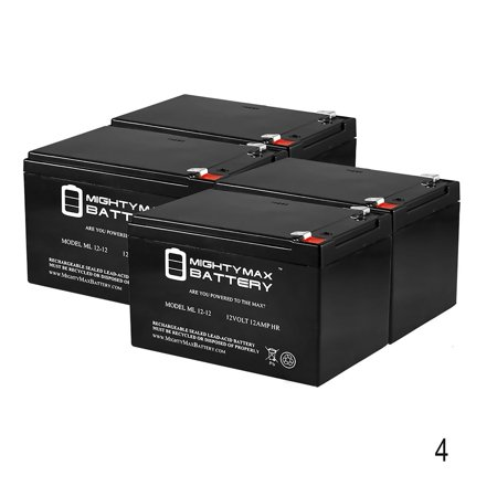 12V 12AH F2 Battery for Moto Tec 500w Electric Dirt Bike - 4