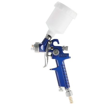 Airbrush Kit HVLP Air Spray Gun Touch Up Paint Sprayer Gravity Feed Air Brush Set 0.8mm Nozzle Auto Car Detail Painting for Spot