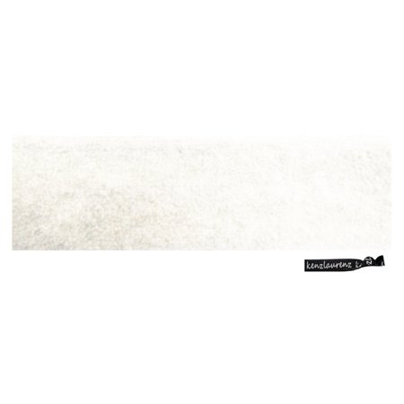 White Sweatbands (Kenz Laurenz Sweatband Terry Cotton Sports Headband Sweat Absorbing Head Band White )