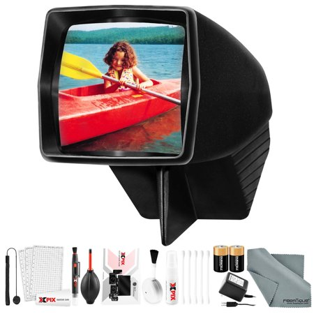 Pana-Vue 6560 Slide Viewer #1 for 35mm with Deluxe Cleaning Kit and Batteries