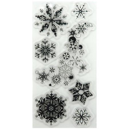 Inkadinkado Christmas Clear Stamps, 4